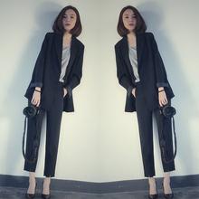 [oejo]休闲西装套装女韩版春夏新