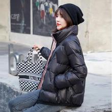 短式女of020新式ic季时尚保暖欧洲站立领潮流高端白鸭绒