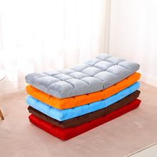 懒的沙of榻榻米可折ic单的靠背垫子地板日式阳台飘窗床上坐椅