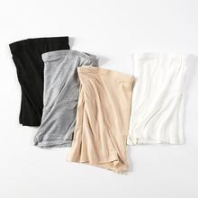 YYZof孕妇安全裤ic夏季打底裤高腰平角短裤怀孕期裤子薄式夏装
