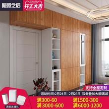 平开门og柜现代简约ls整体卧室衣柜带顶柜多功能免漆板大衣橱