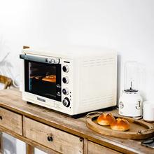 柏翠 oiE5040kw烤箱家用烘焙多功能全自动38L大容量智能电子式