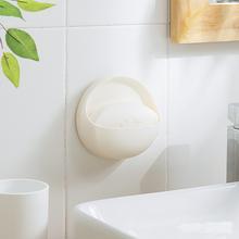 纳川创oi吸盘吸壁挂kw肥皂架卫生间浴室沥水置物香皂架