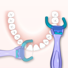 齿美露ol第三代牙线we口超细牙线 1+70家庭装 包邮