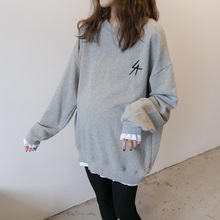 [oldwe]孕妇T恤中长款春装上衣2