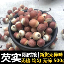 广东肇ol芡实米50ve货新鲜农家自产肇实欠实新货野生茨实鸡头米