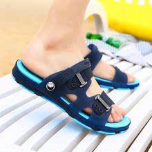 字拖塑ol凉鞋沙滩鞋ve式两季时凉多色夏用男生尚U拖鞋浴室