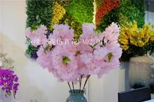 仿真花假花藤条樱花绣球花缠绕空ol12管道藤vi管道壁挂背景