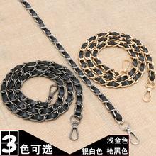 女包包带背包链流浪ol6链子斜跨gn单买穿皮包链子包链条配件