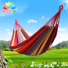 吊床户om单的室内家ka睡觉秋千加厚吊椅悬挂寝室空中瑜伽野外