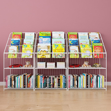 铁秀才on童书架宝宝ra简易书报架学生幼儿园图书柜展示架包邮