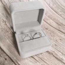 结婚对on仿真一对求ea用的道具婚礼交换仪式情侣式假钻石戒指