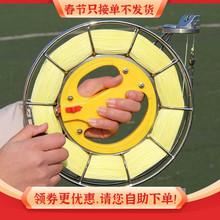 潍坊风on 高档不锈si绕线轮 风筝放飞工具 大轴承静音包邮