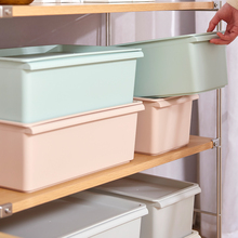 家用塑料收纳箱有盖杂物整