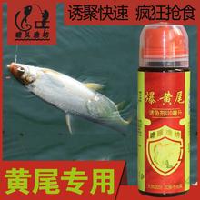 爆黄尾os(小)药春夏季ig尾青尾银鲴打窝料用黄尾饵料促食剂