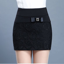 202ou冬季新式短ki裙短裤女冬外穿大码高腰加厚前裙后裤短裙裤