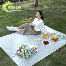 一次性ow餐垫布旅游di布户外野炊防水加厚便携沙滩草坪地垫