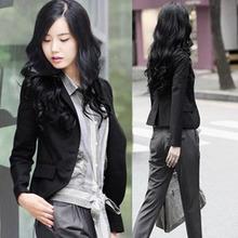 201ow春秋新式女ow(小)西装韩款显瘦长袖职业(小)西服外套 短式
