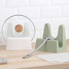 纳川创意厨房pa品塑料锅盖at砧板置物架收纳架子菜板架锅盖座