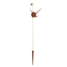 现代北pa美个性创意at厅极简西班牙风格纯铜超大指针挂钟表