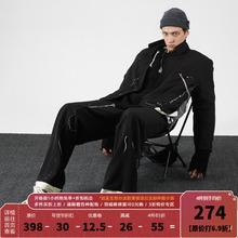 PERpaLIPS ixLP) 解构破坏西服 拼接男士休闲西装外套韩款潮流
