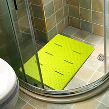 浴室防pa垫淋浴房卫is垫家用泡沫加厚隔凉防霉酒店洗澡脚垫