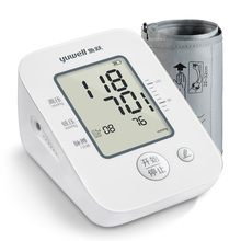 鱼跃电pa量血压计Yis0D家用臂式全自动yuwell测血压测量仪器AN