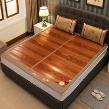 竹席凉pa1.8m床ca面折叠1.2米1.35米宿舍单的0.9m草席子1.5米