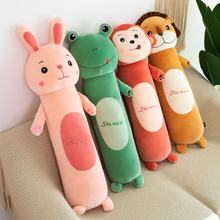 毛绒玩pa(小)兔子公仔br枕长条枕男生床上夹腿布娃娃生日礼物女