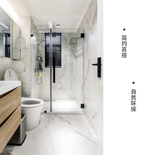 (小)树建pa0轻奢柔光br理石瓷砖卫生间墙砖地砖6001200爵士白