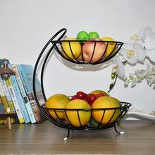多层水pb篮客厅创意zy盘简约中式现代奢华收纳架多功能果盆