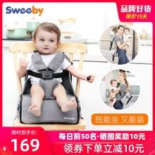 sweebypb携款宝宝餐zy餐桌椅子多功能储物包婴儿外出吃饭座椅
