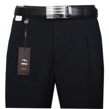 老爷车pc烫宽松直筒wn士中年商务西裤春夏薄式职业正装西装裤