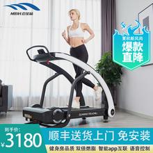 迈宝赫pc用式可折叠hr超静音走步登山家庭室内健身专用