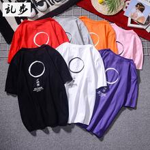 个性短袖t恤男夏季韩版潮
