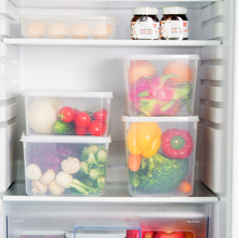 日本超pe容量保鲜盒ew里的塑料大号食品盒子置物有盖