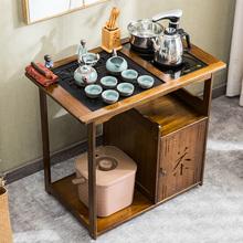 移动茶pf茶车新中式js桌多功能茶水柜家用阳台茶几全自动套装