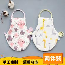宝宝婴pf肚兜纯棉秋js儿宝宝加厚保暖护肚围0-2-3岁四季通用