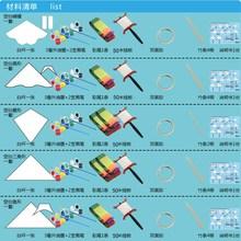 风筝工材质材料已作业活动