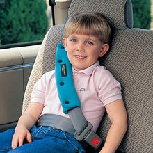 宝宝汽pg安全带限位fu固定器防勒脖车用安全座椅安全带护肩套