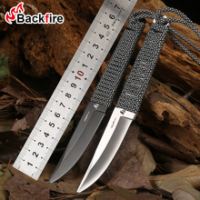 荒野高硬度户外直刀防身刀