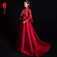 秀禾服pi娘2020za式结婚嫁衣敬酒服孕妇中国风禾服女