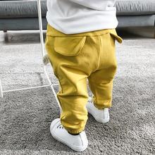 婴儿大pip裤子男童za女童宝宝0个月2春秋装外穿屁屁裤秋冬装长裤