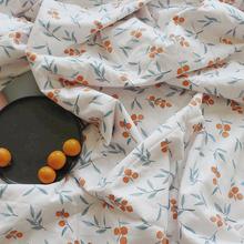 月光集pi棉文艺(小)金ng夏被日系清新2米2.3夏凉被网红式