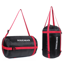 睡袋收pi袋子包装代rr暖羽绒信封式睡袋能可压缩袋收纳包加厚
