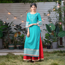 野的(小)pi 印度女装el印花纯棉 民族风七分袖服饰上衣2020新式