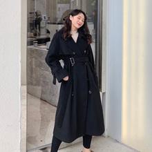【欣怡pi胖定制】2cu秋冬季新式毛呢外套女装中长式收腰呢子大衣