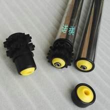 无动力pi锌托滚输送kt滚轴传送托辊流水线不锈钢链轮滚筒厂家