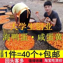 正宗水画农夫4pi枚海鸭蛋黄yp月饼粽子烘焙真空新鲜包邮