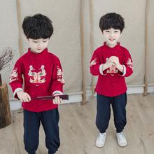 汉服男童唐装中国风复古装